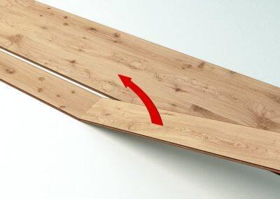 Połączenia końców mogą być odblokowane poprzez przełamanie.
