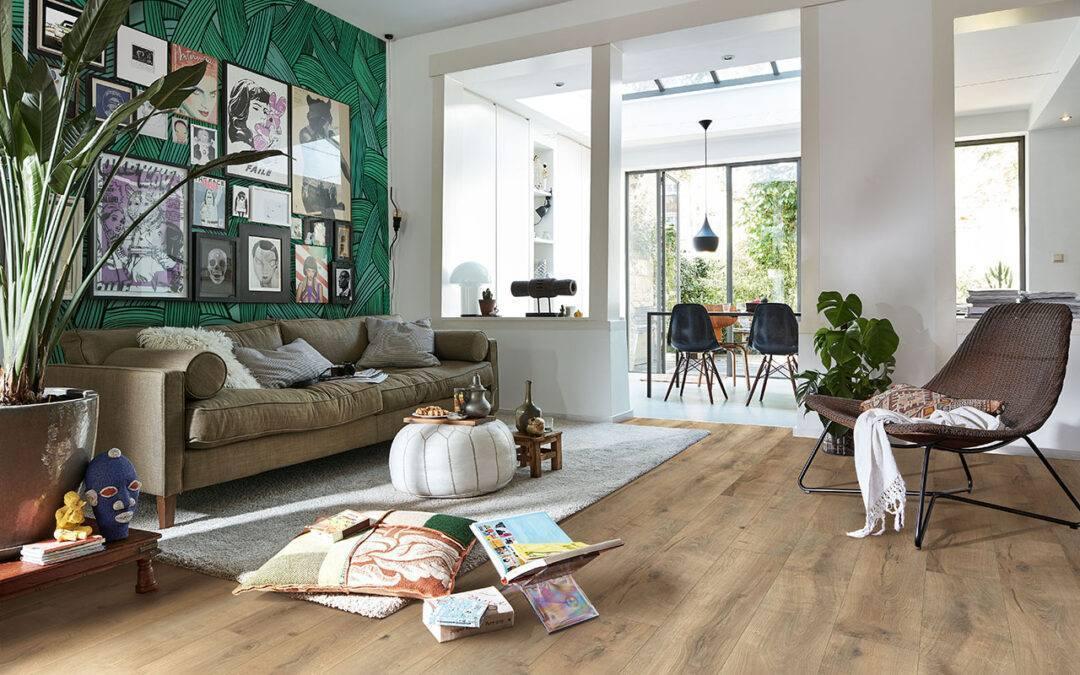 Jak dobrać kolor podłogi drewnianej do mebli?